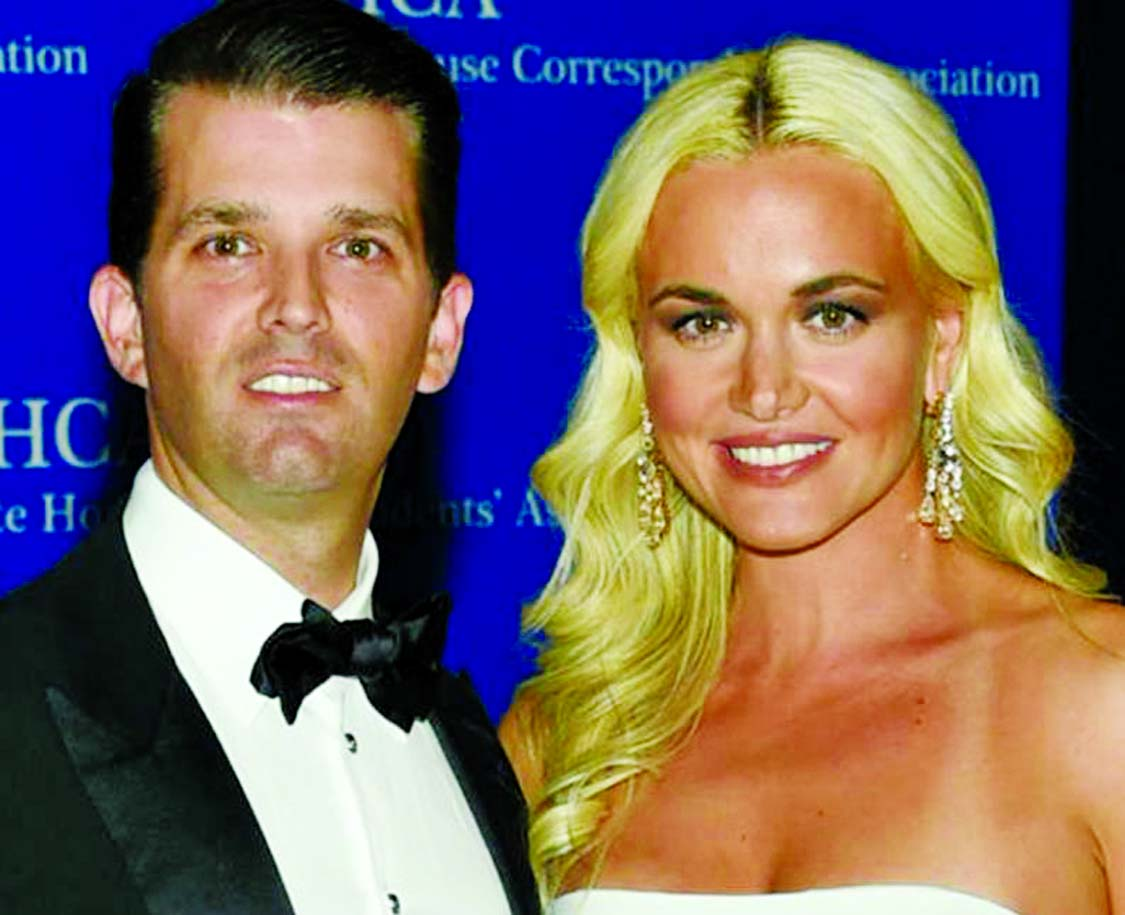 Trump Jr.'s wife files for divorce in NY