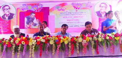 GAZIPUR:  Gazipur District Administration arranged a discussion meeting, cultural programme and prize distribution on the occasion of the 98th birth anniversary of Bangabandhu Sheikh Mujibur Rahman and the National Children's Day yesterday.   Dr Dewan Mohammad Humayan Kabir, DC, Gazipur was present as Chief Guest.