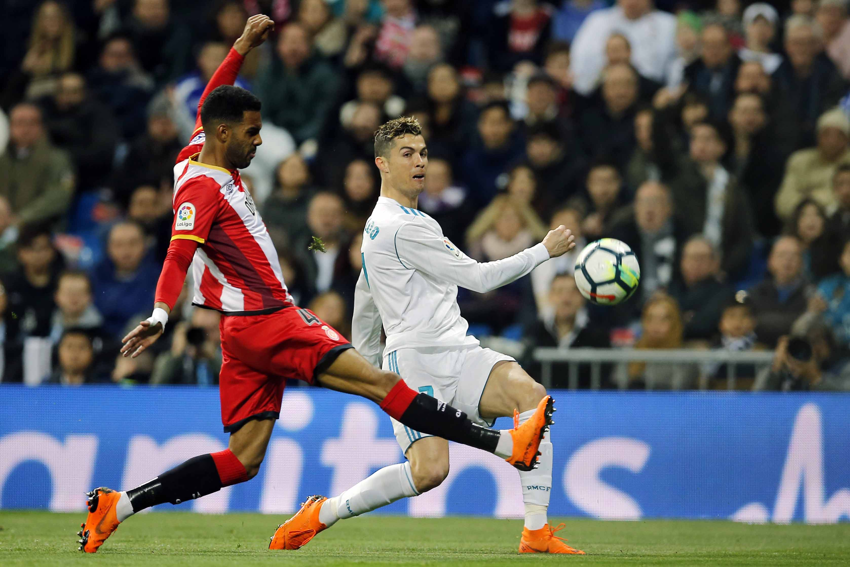 Ronaldo scores 4 goals as Madrid beat Girona 6-3
