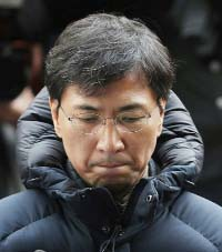 Former S. Korea presidential hopeful denies rape