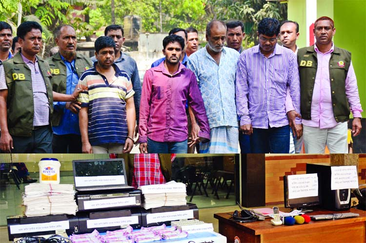 4 held with fake Indian Rs 30 lakh