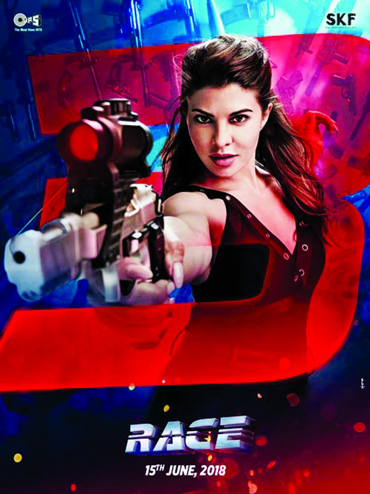 Jacqueline Fernandez returns to the Race as Jessica!