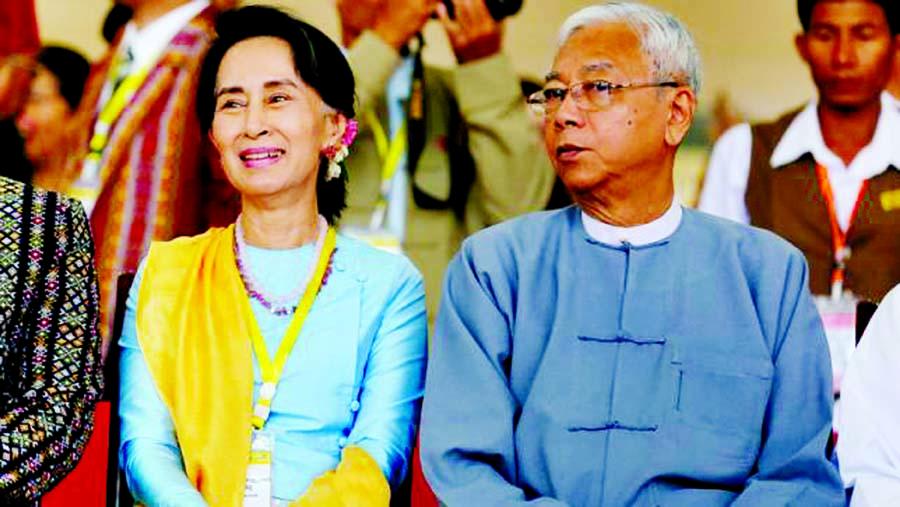 Myanmar president and Suu Kyi confidant Htin Kyaw resigns