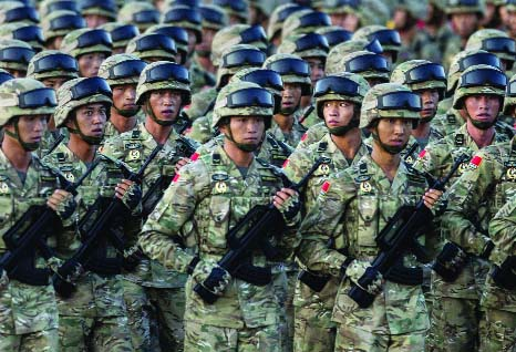 China should prepare for military action over Taiwan: Chinese paper
