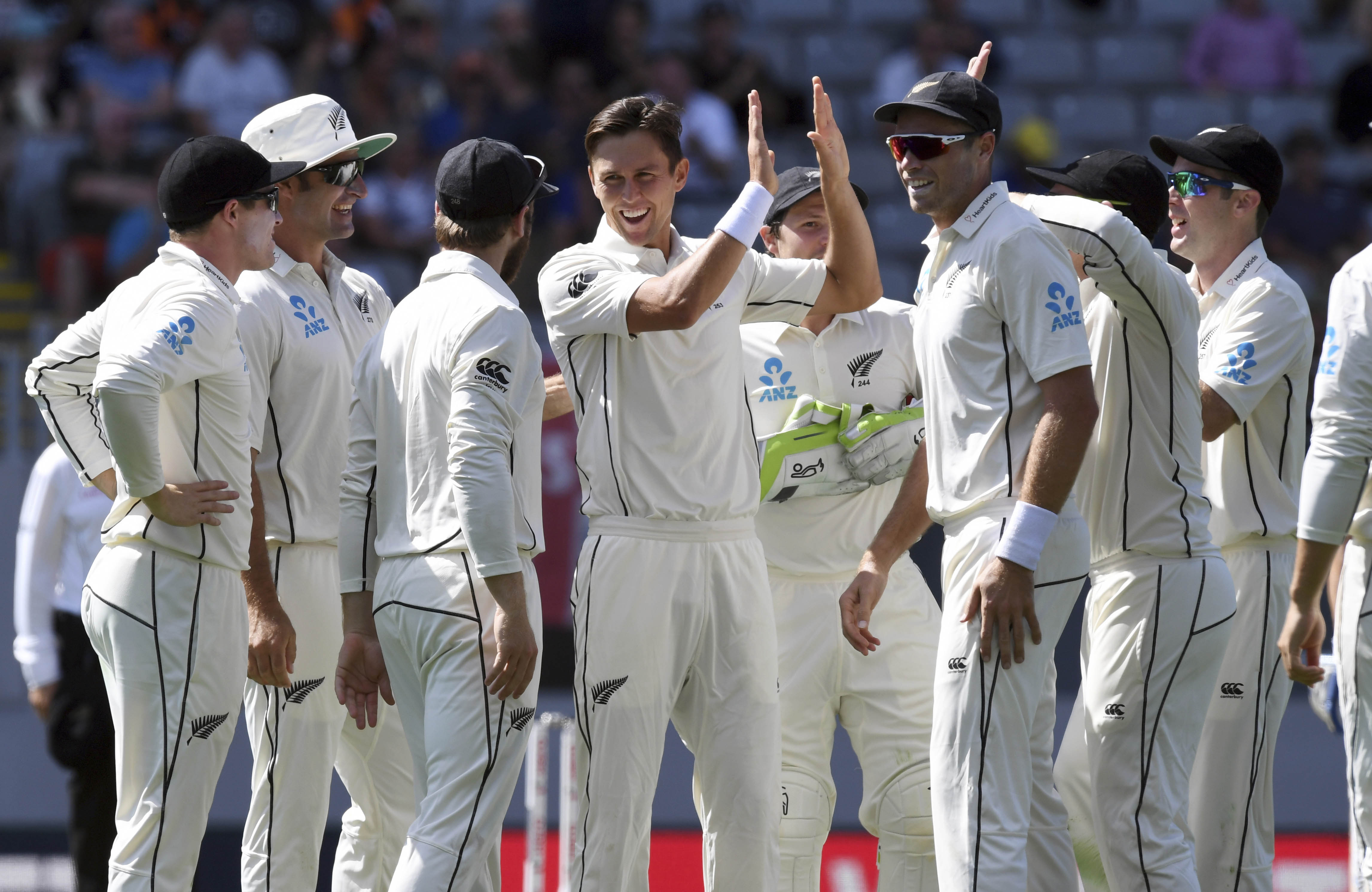 Thunder Boult destroys England for 58 in first NZ Test