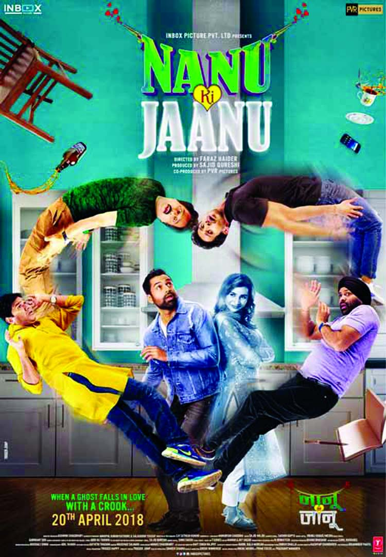 The first look and motion poster of 'Nanu Ki Jaanu' !