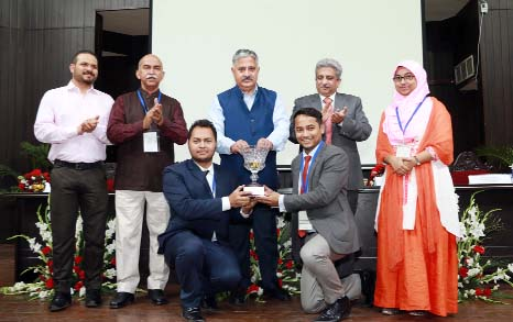 DIU wins 'Business Planning Competition' in India
