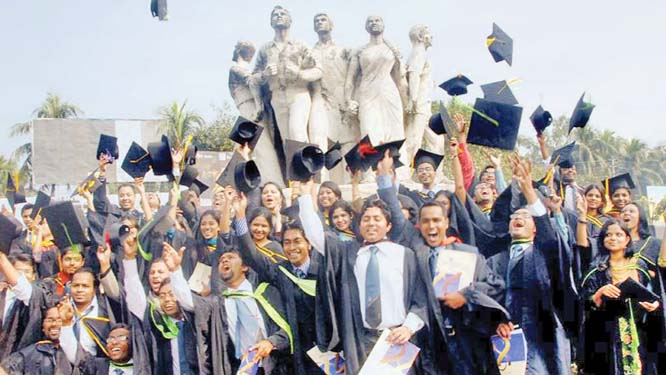 Population growth and higher education in Bangladesh