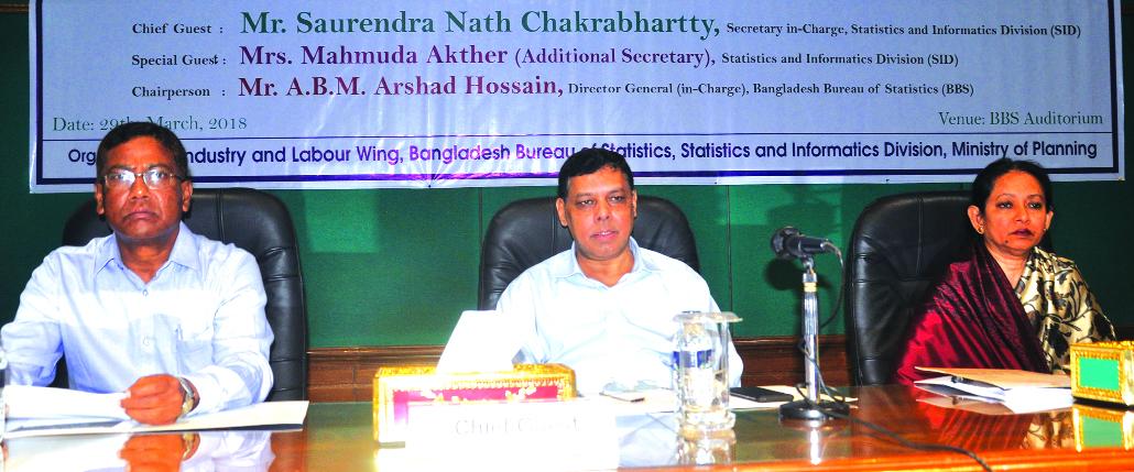 Saurendra Nath Chakrabhartty, Secretary (In-Charge) of