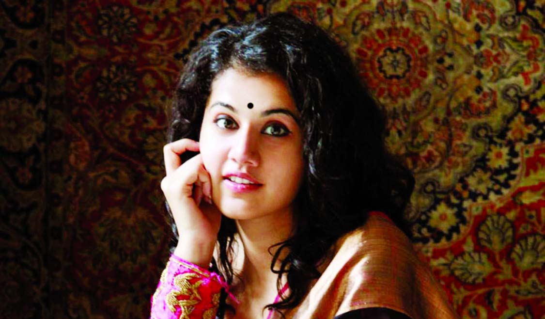 Taapsee Pannu expresses happiness over Nat'l Award for Ghazi