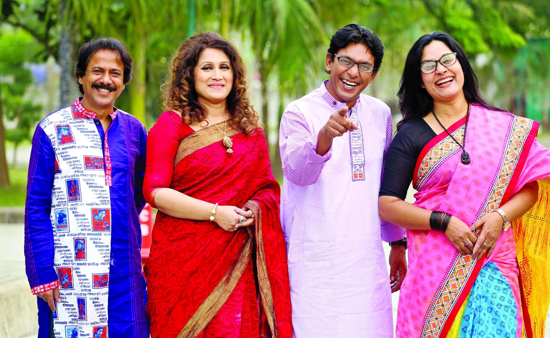 Judges of reality show Hashte Jader Mana