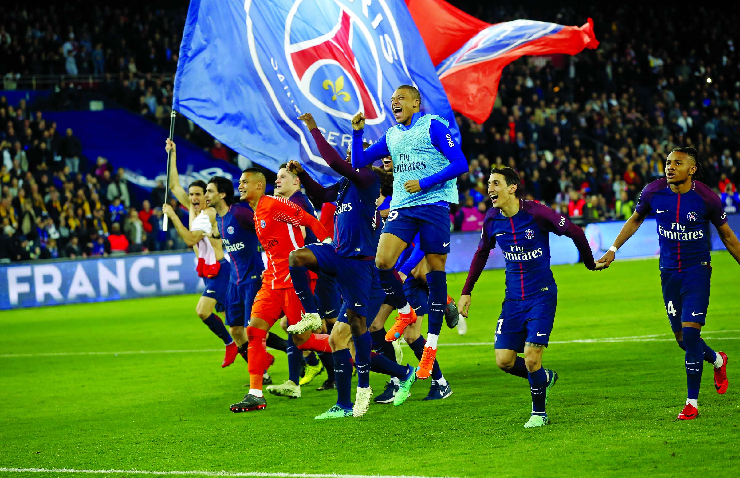 PSG win title after crushing defending champion Monaco