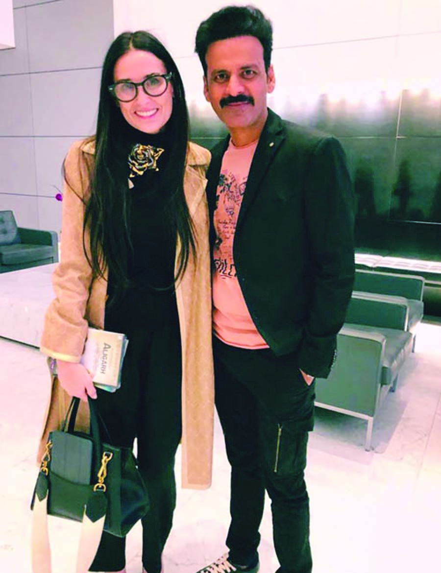 When Manoj met Demi Moore!