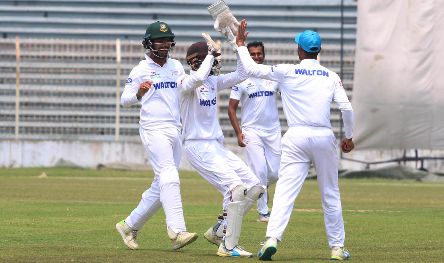 South Zone suffer batting collapse