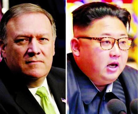 Trump hails CIA chief Mike Pompeo`s secret trip to N Korea