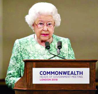 Queen hosts C'wealth leaders