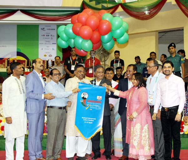 Bangabandhu Asian Central Zone Volleyball Championship begins
