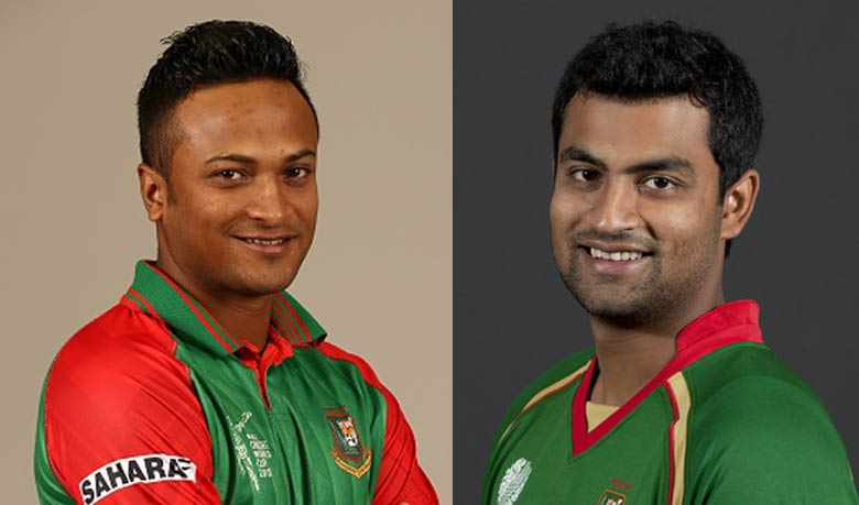 Shakib, Tamim to play for ICC World XI against West Indies