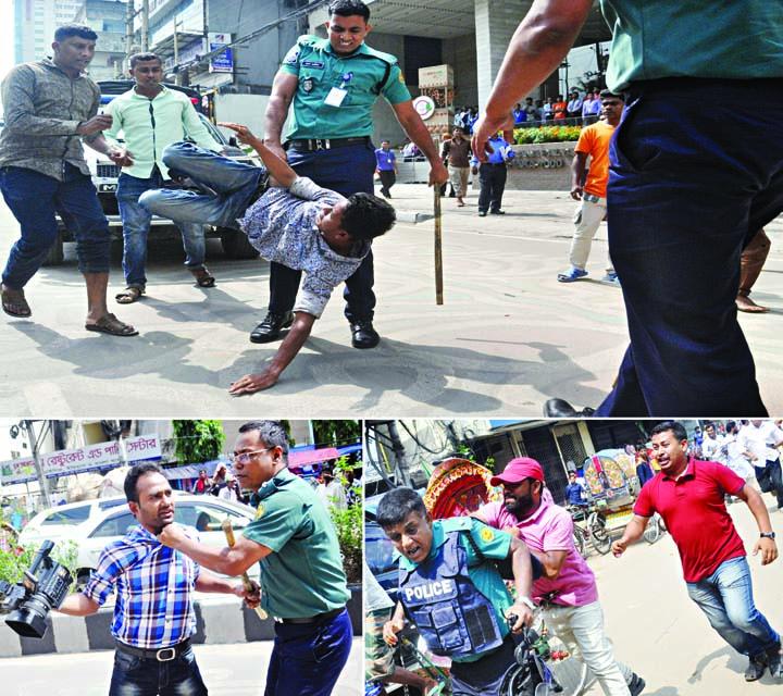 Cops foil BNP rally in city