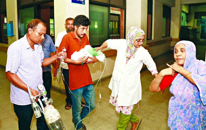 `Dead` newborn girl wakes up before burial