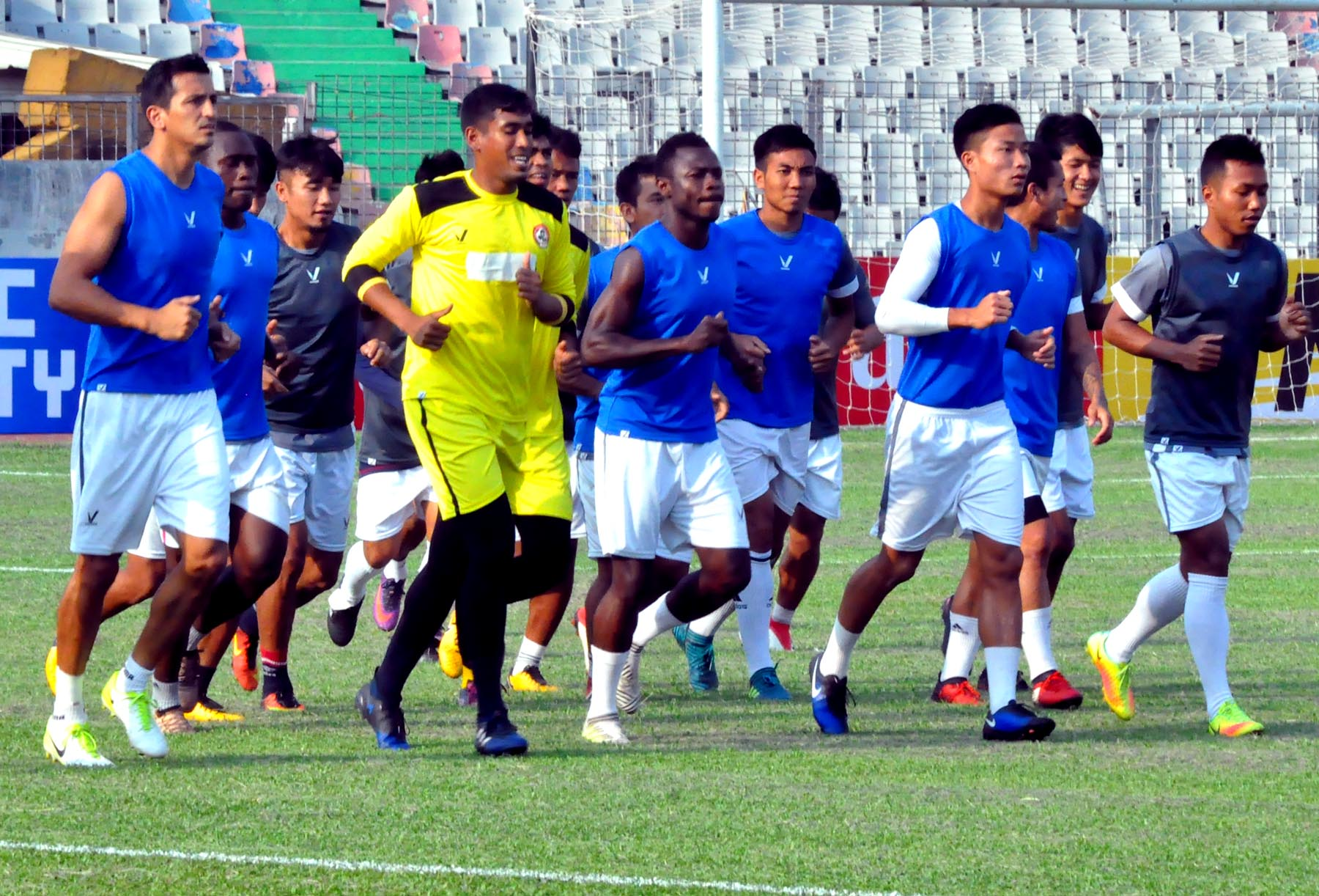 Abahani face off Aizawl FC today