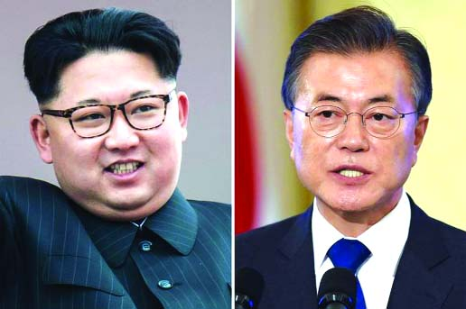 Moon, Kim to meet at military demarcation line on Friday