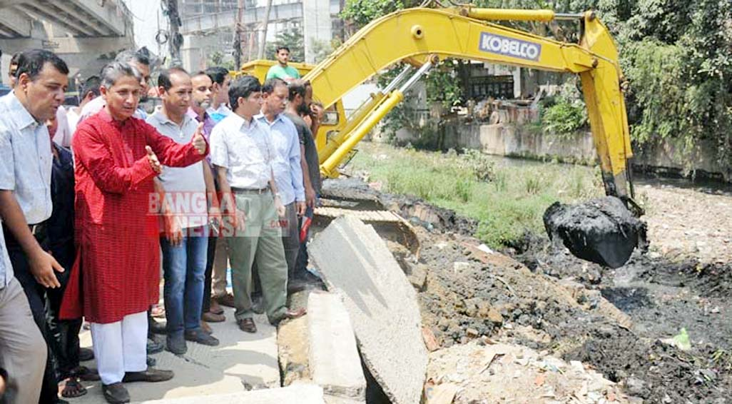 Tk 5616 cr CDA mega project launched to mitigate water-logging