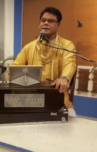 Kamal Ahmed's solo musical soiree  on Rabindra anniversary