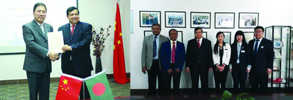 BUFT inks MoU with Liaoning University, China