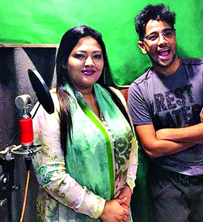 Momtaz sings for Debi in Pritom`s tune