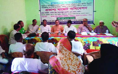 BETAGI(Barguna): An open budget discussion on Betagi Sadar Union Parishad of  2018-2019 fiscal year was held at Betagi  Union Parishad Community Centre recently. Nazrul Islam, Chairman, Betagi Upazila Parishad presided over the meeting. Among others, Alhaj A B M Golum Kabir, Mayor,  Betagi Pourashava was  present in the programme.