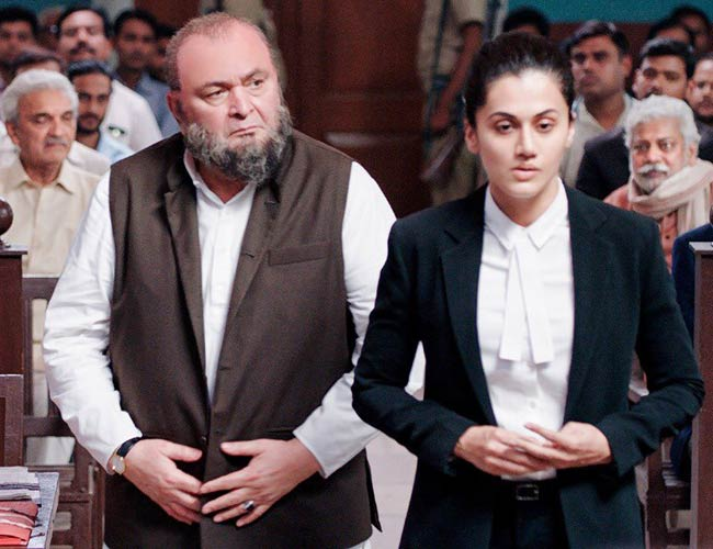 The first look of Taapsee's Mulk