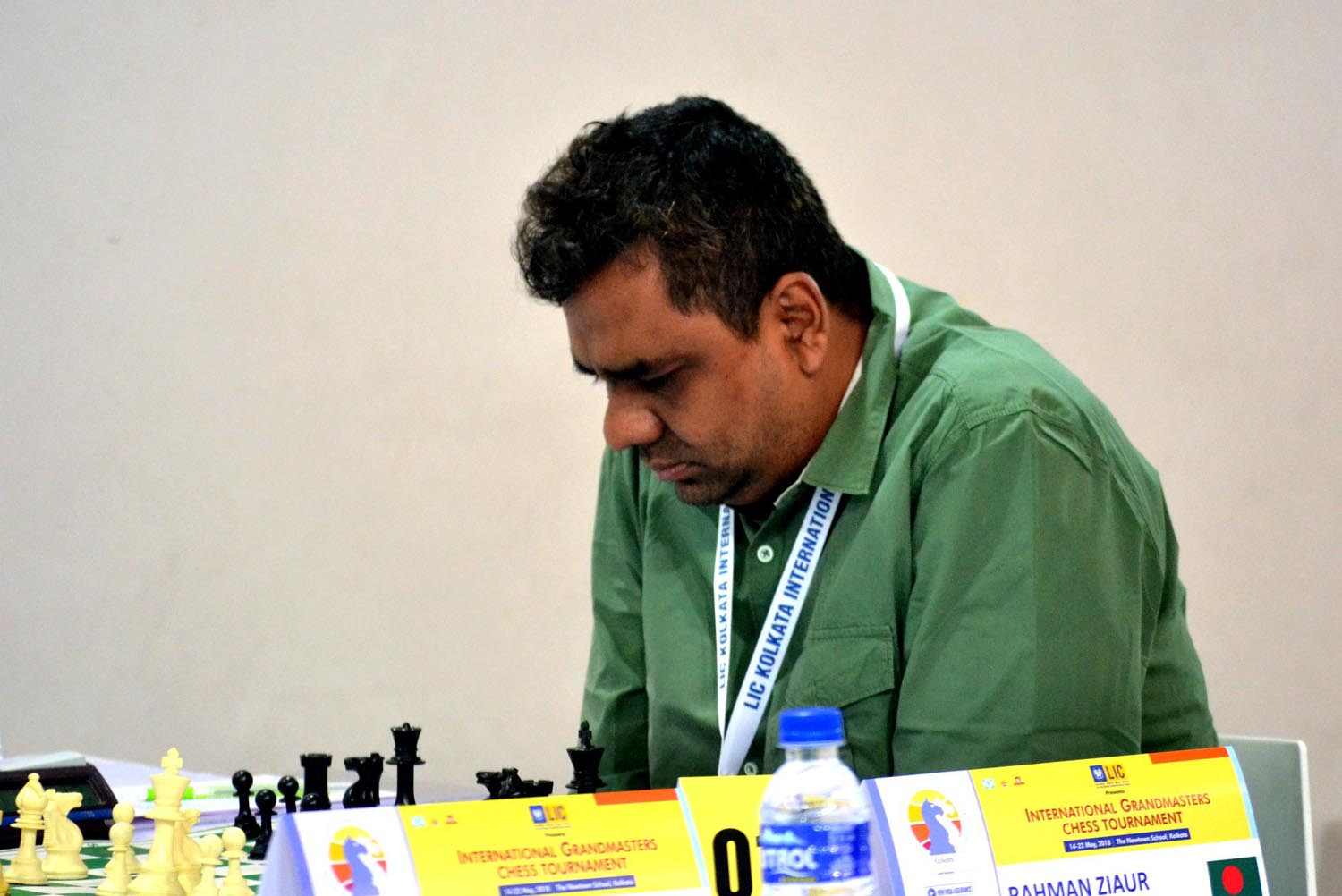 Zia finishes at 13th position in Kolkata Open Chess