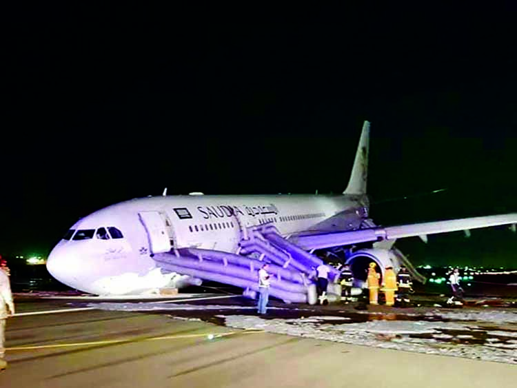 Dhaka-bound Saudia plane makes emergency landing in Jeddah