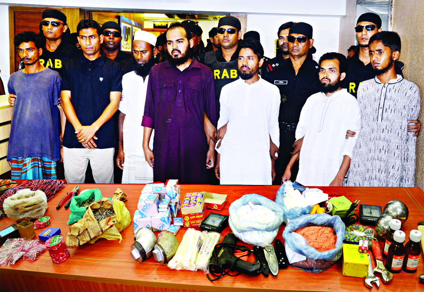 7 Ansar Al Islam men held in city