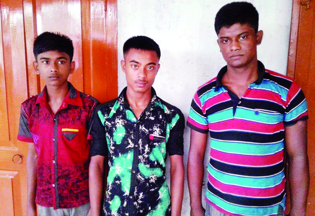 KAPASIA ( Gazipur) : Three kidnapped children were rescued from Chattogram on Wednesday