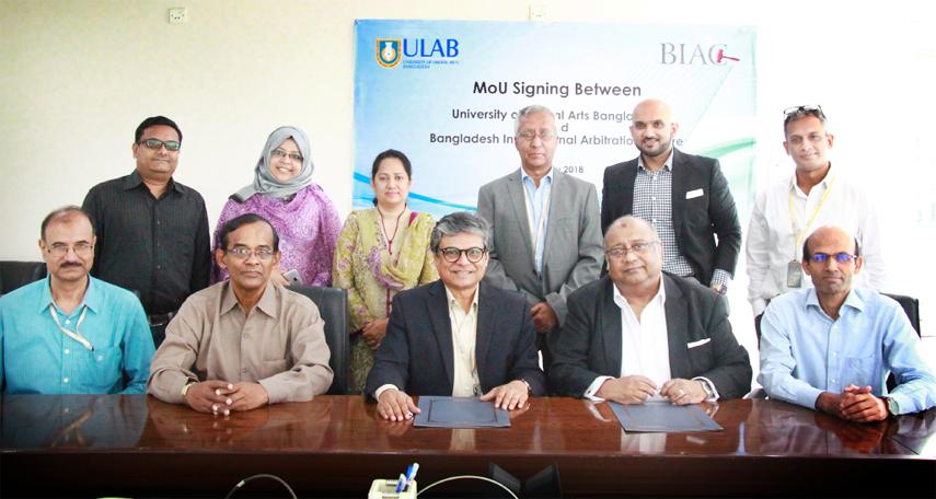 ULAB, BIAC sign MoU