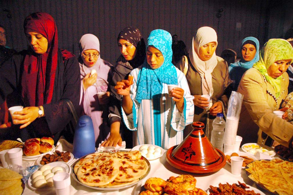 A holy time, with food from many cultures