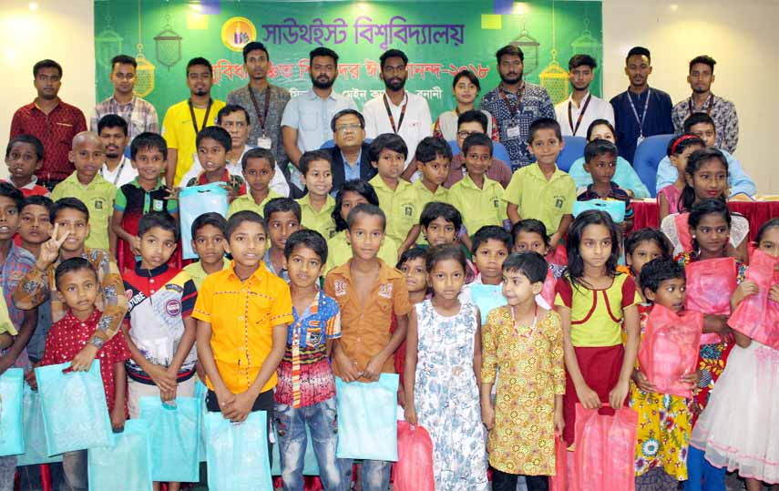 SEU Social Welfare Club shares Eid joy with orphans
