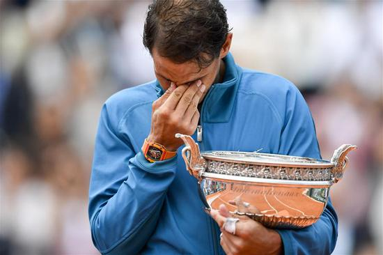 Nadal sweeps Thiem to claim 11th title at Roland Garros