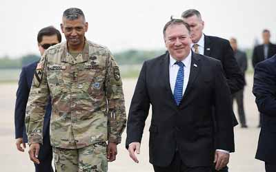 US hopes for 'major' North Korea disarmament by 2020: Pompeo