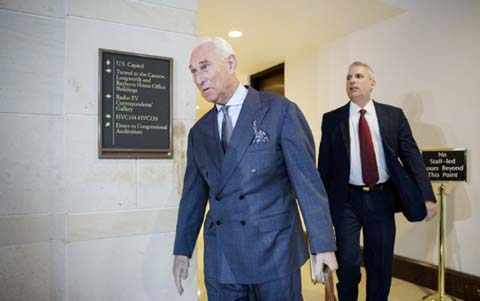 Trump adviser Roger Stone reveals new meeting with Russian