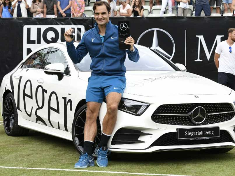Federer wins 98th ATP title in Stuttgart