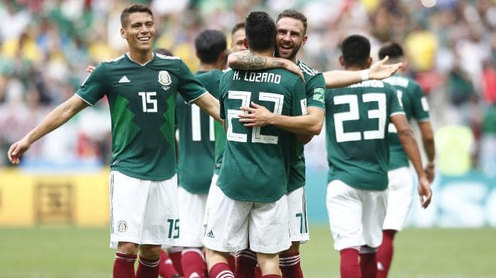 World Cup holders Germany left stunned by Mexico