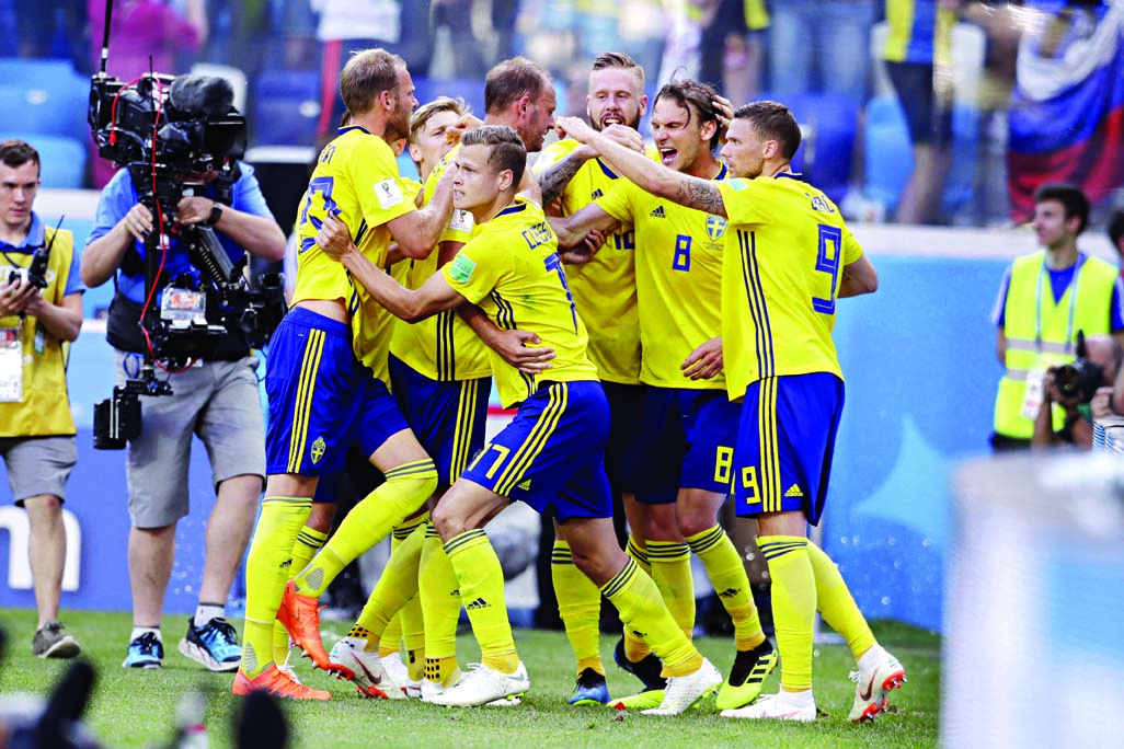 Sweden beat S Korea 1-0