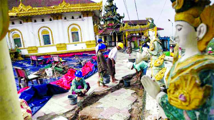Landslides, flash floods in south Myanmar