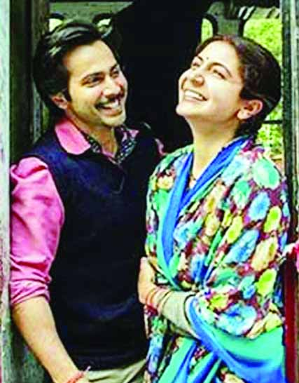 Varun, Anushka  indulge in some on-set bantering