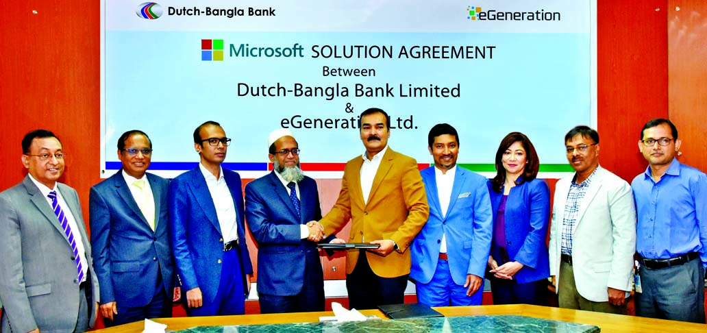 eGeneration to provide Microsoft solutions to DBBL