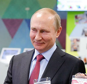 Putin missed Russia-Egypt match but 'happy' at win
