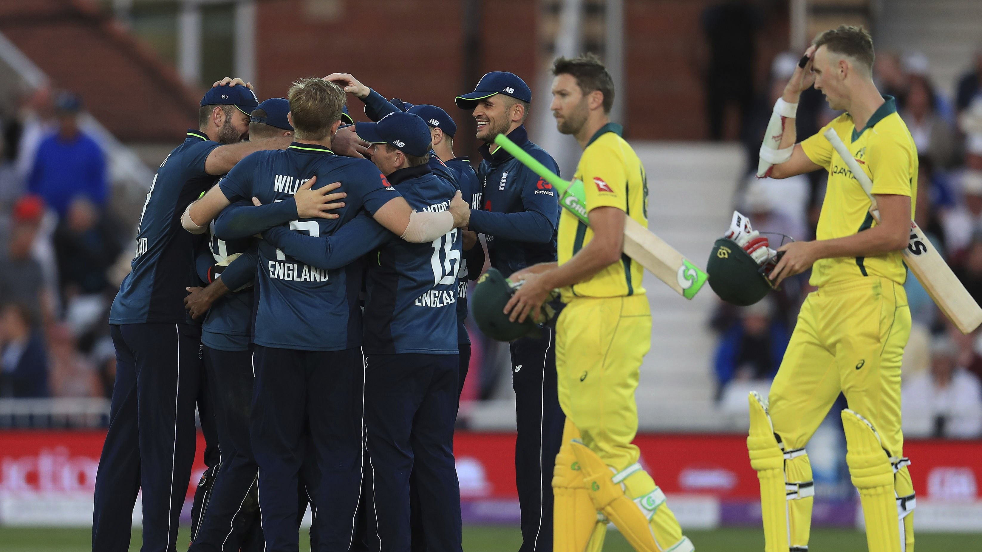 England extend record ODI total in 242-run win against Australia